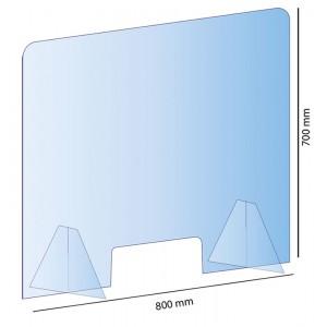 PLexiglas 200 X 150 mm jusqu'à 4 lignes