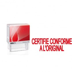 "Printer 20 formule "" CERTIFIE CONFORME A L'ORIGINAL"""