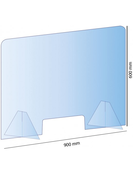 Hygiaphone 900 x 600mm