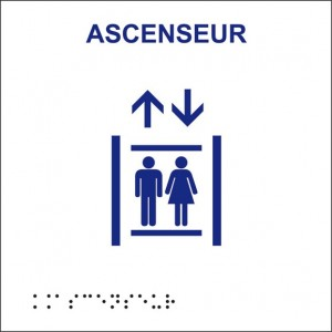 Braille Ascenceur