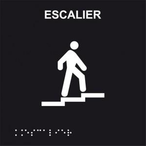 Braille escalier