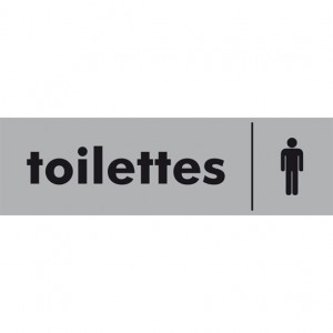 Toilettes hommes Plexi