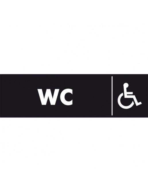 WC Handicapé plexi
